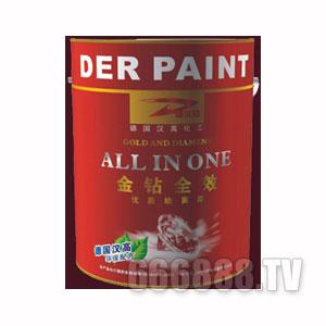 完美大自然德尔金钻全效优质墙面漆
