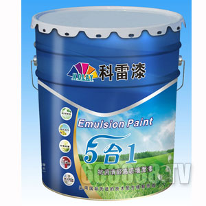 五合一抗菌清醛高级墙面漆