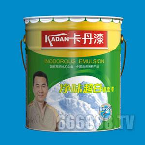 净味超白墙面漆