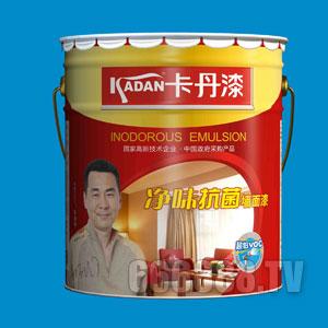 净味抗菌墙面漆