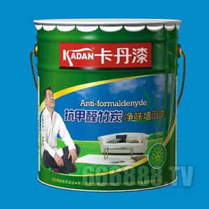 抗甲醛竹炭净味墙面漆