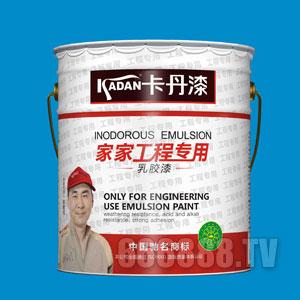 家家工程专用乳胶漆