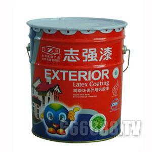 特殊色外墙乳胶漆产品包装图片