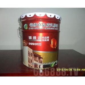 高品质墙面漆产品包装图片