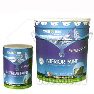雅铂Ybn15000竹炭净味丝光墙面漆