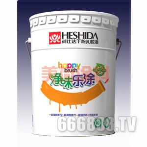 净味乐涂外墙干粉乳胶漆产品包装图片