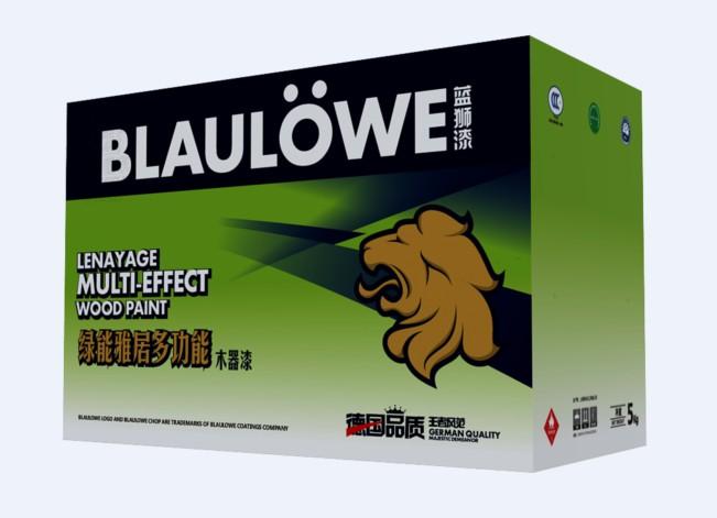 蓝狮绿能雅居多功能木器漆
