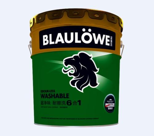 蓝狮超净味 耐擦洗 6合1
