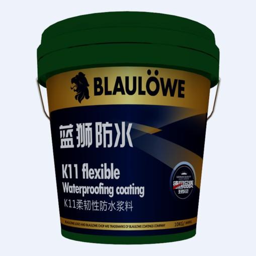 K11柔韧性防水浆料