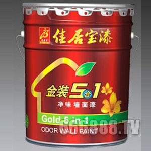 【大桶】金装5合1净味封面漆产品包装图片