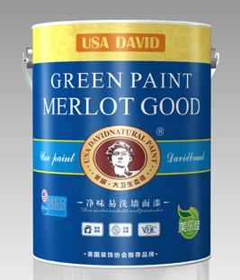 美国大卫漆净味易洗墙面漆