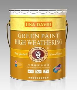 美国大卫漆超耐候外墙漆