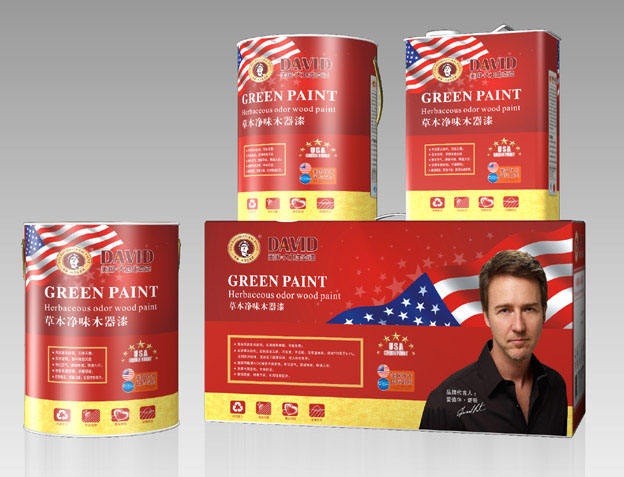 美国大卫漆净味木器漆