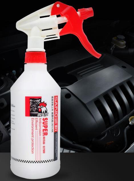 三和鸡头水快速清除汽车内部重油污垢鸡头水汽车清洗油污清洁剂