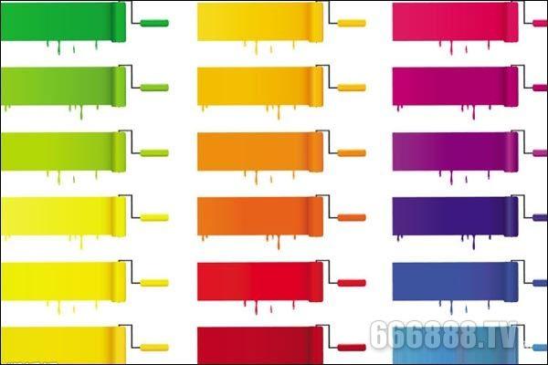 家居装修涂料颜色的选择方法