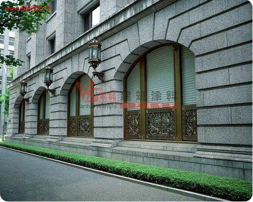 外墙真石漆欧式线条效果图