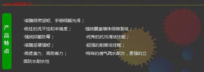 中国富豪宅装饰内墙九合一产品特点