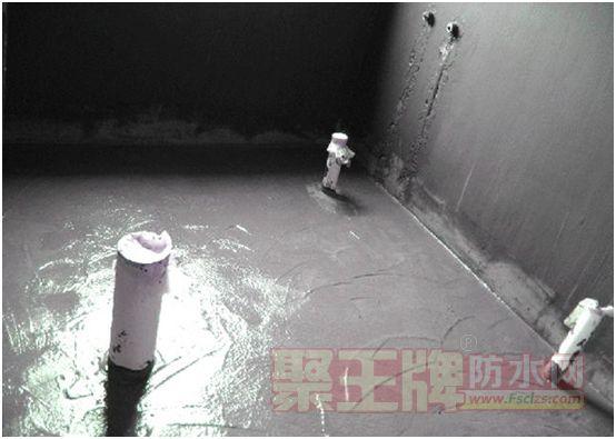 防水涂料施工后干燥速度慢