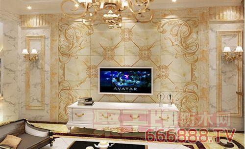 客厅墙面瓷砖