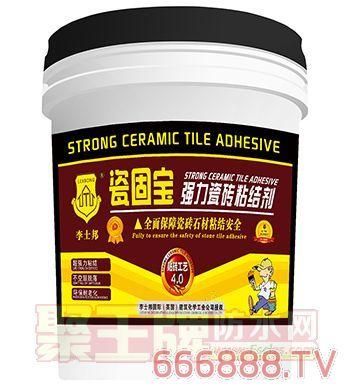 李士邦瓷固宝-强力瓷砖粘结剂
