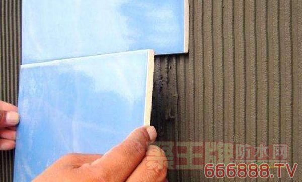 家庭防水时墙面防水会影响铺贴瓷砖吗?