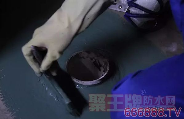 涂料施工,防水零渗漏的做法