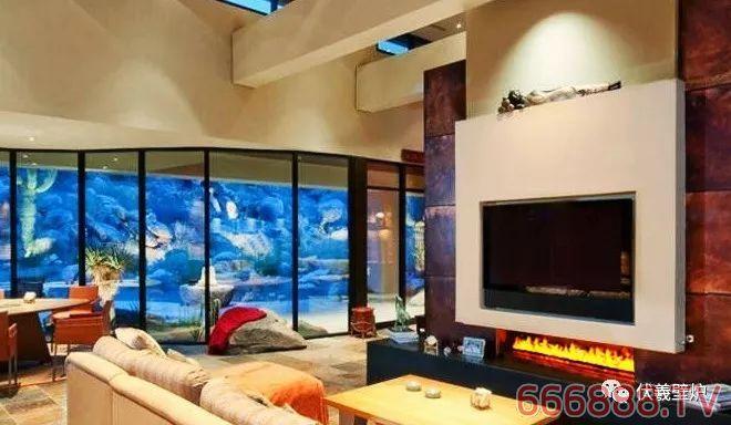 百科知识科普-伏羲雾化壁炉3d篝火盆灯如何安装水与电视墙搭配