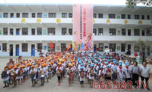 2019重走支教路 立邦携手公益伙伴为军塘小学举办「为爱上色」夏令营