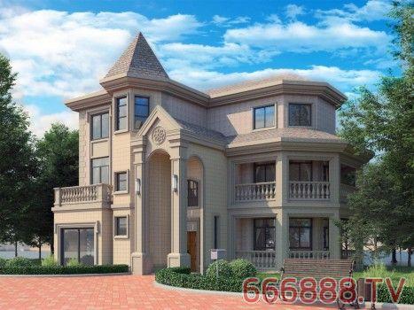 经典别墅外墙高端定制(BMW)项目,定制悠然美好的乡居人生