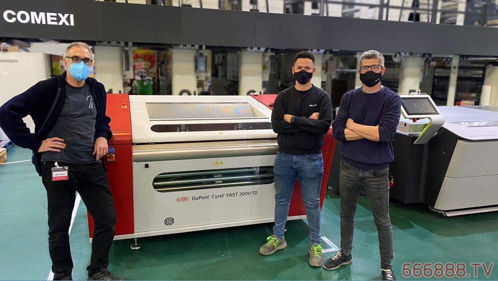 杜邦赛丽解决方案携手Comexi公司为印刷厂提供一站式柔印系统