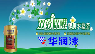 广东华润涂料有限公司招商形象广告图片